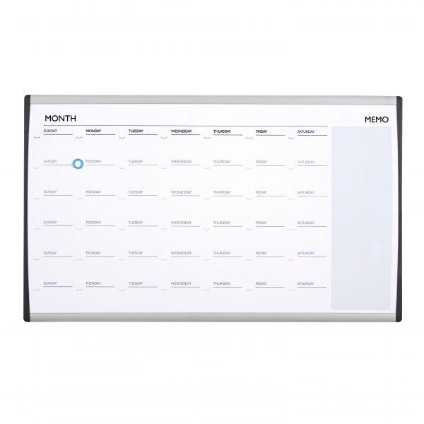 Quartet Arc Cubicle Magnetic Dry Erase Calendar