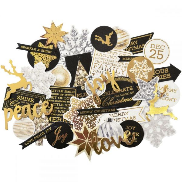 Glisten Collectables Cardstock Die-Cuts