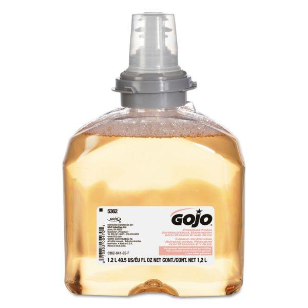 Gojo TFX Foaming Antibacterial Hand Soap Refills