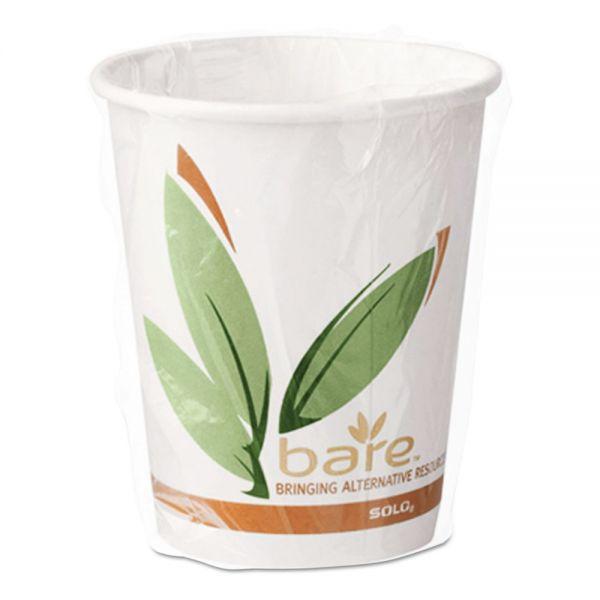 SOLO Cup Company Bare Eco-Forward 10 oz Coffee Cups