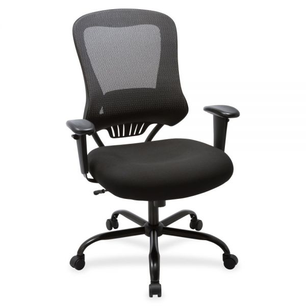 Lorell Big & Tall Mesh Back Executive Office Chair