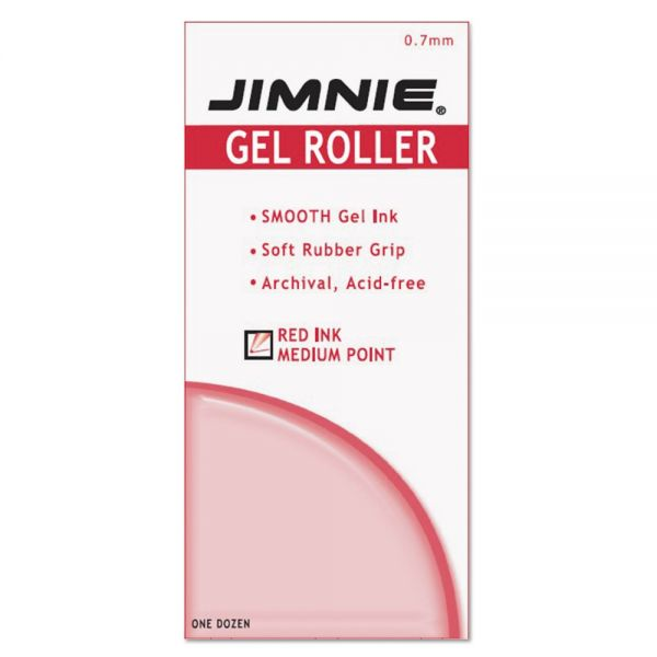 Zebra Pen Jimnie Gel Non-Refillable Rollerball Pens