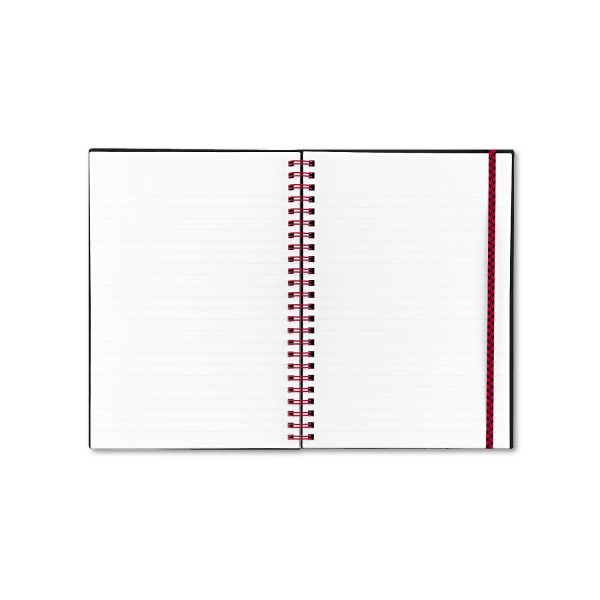 Black n' Red Perforated Notebook