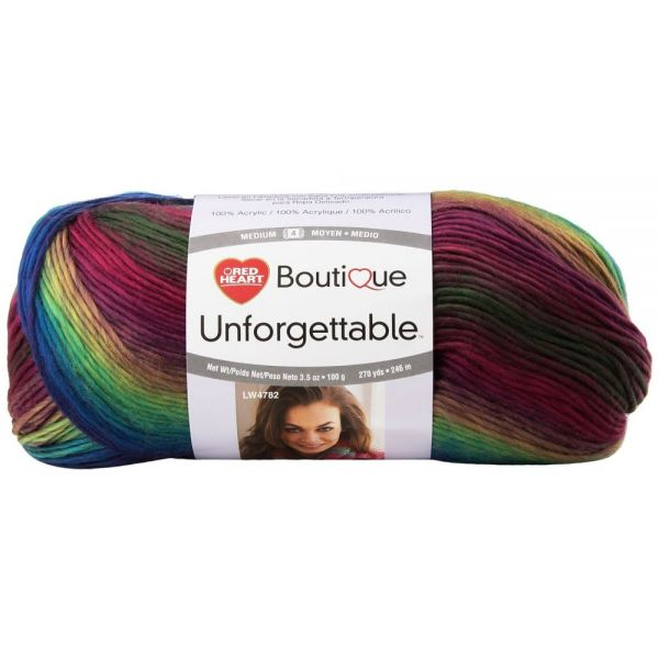 Red Heart Boutique Unforgettable Yarn - Stained Glass
