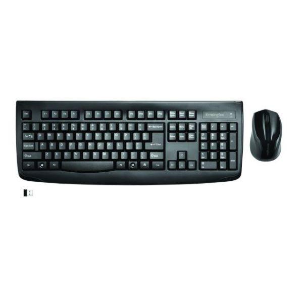 Kensington Pro Fit Wireless Desktop Set - Black