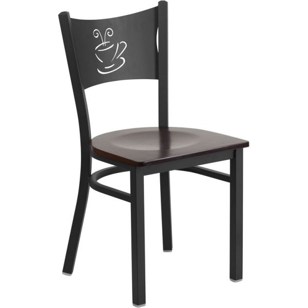 Flash Furniture HERCULES Series Coffee Back Restaurant Chair