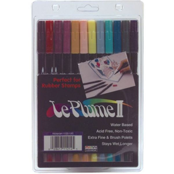Marvy Le Plume II Double-Ended Markers