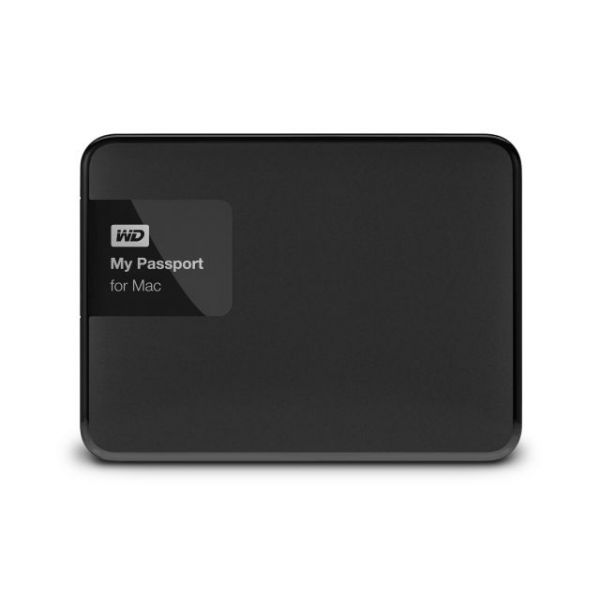 WD My Passport for Mac 2 TB USB 3.0 secure portable drive with auto backup