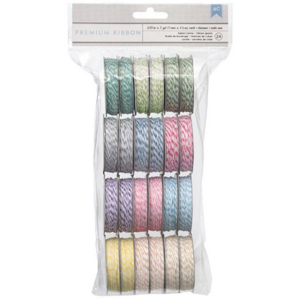 Baker's Twine Value Pack 5yd Spools 24/Pkg