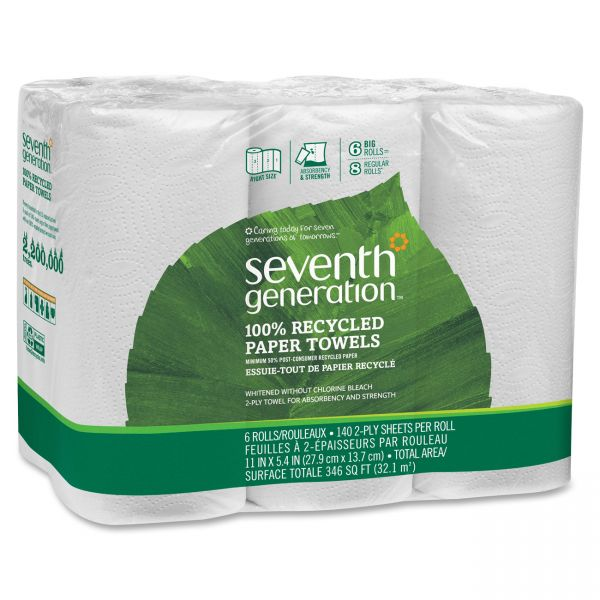 Seventh Generation 100% Recycled Paper Towels