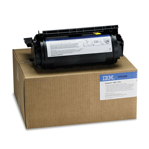 InfoPrint 75P4305 Black Toner Cartridge