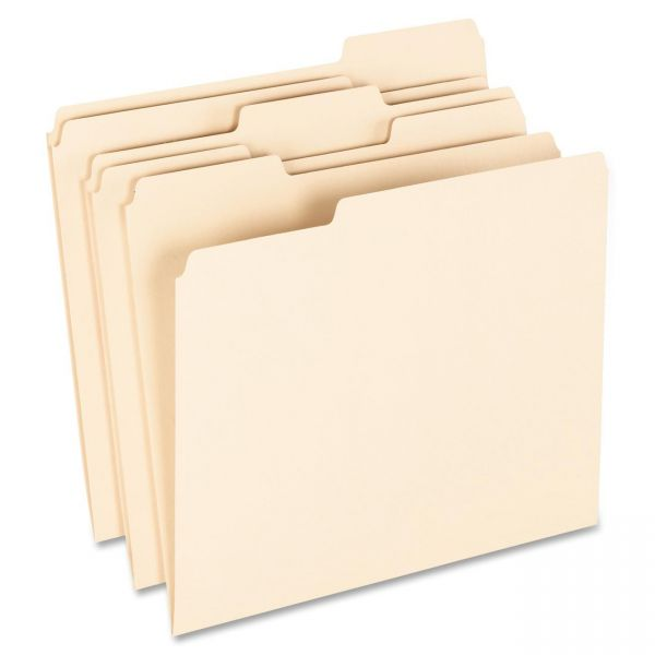 Pendaflex EarthWise 100% Recycled Manila File Folders