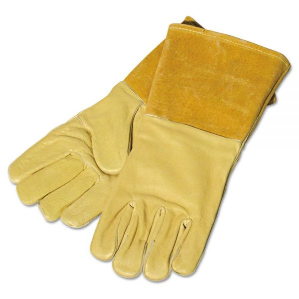 Anchor Brand 250GC Specialty Welding Gloves, Pigskin, Large