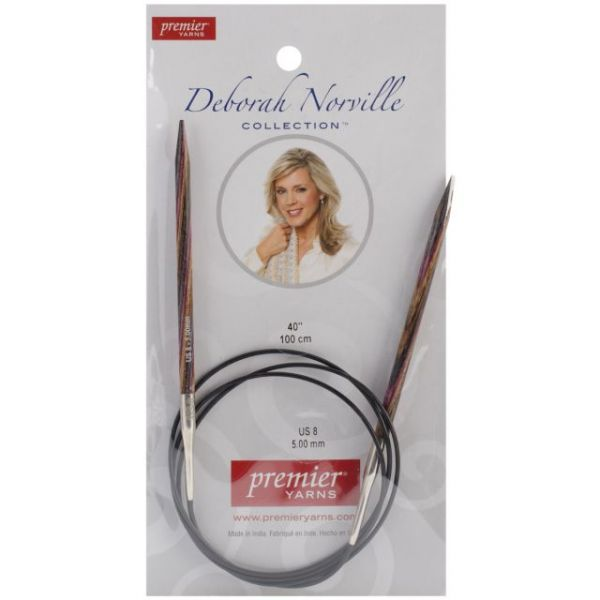 "Deborah Norville Fixed Circular Knitting Needles 40"""