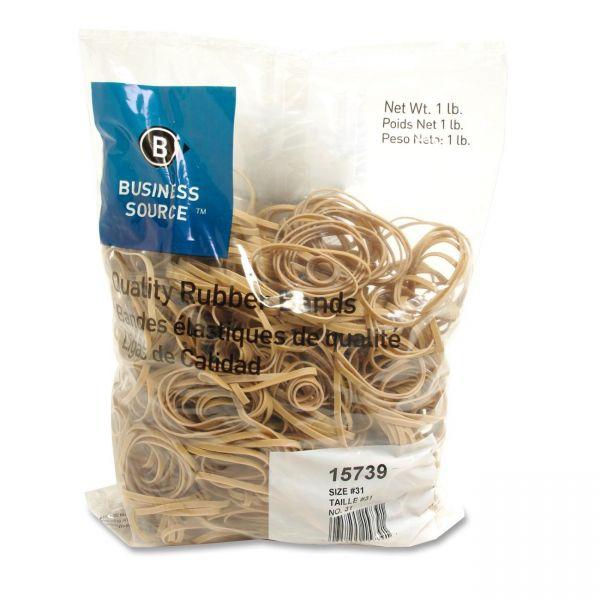Business Source #31 Rubber Bands (1 lb)