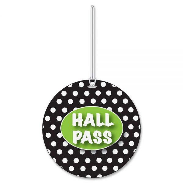 Ashley Black/White Dots Hall Pass