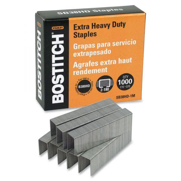 """Stanley-Bostitch Extra Heavy-Duty 3/16"""" Staples"""
