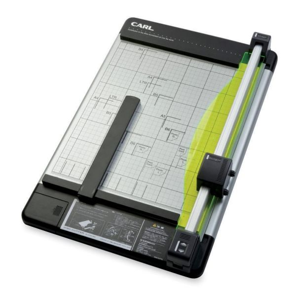 "CARL Heavy-Duty Rotary 15"" Paper Cutter"