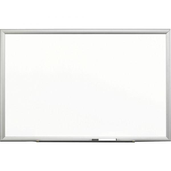 "3M 72"" x 48"" Magnetic Porcelain Dry Erase Whiteboard"