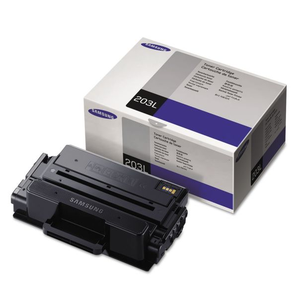 Samsung 203L Black High Yield Toner Cartridge (MLTD203L)