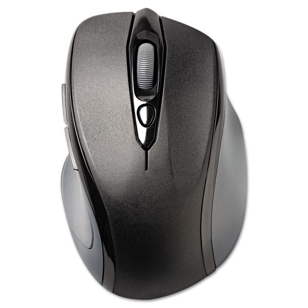 Kensington Pro Fit Mid-Size Wireless Mouse, Right, Windows, Black