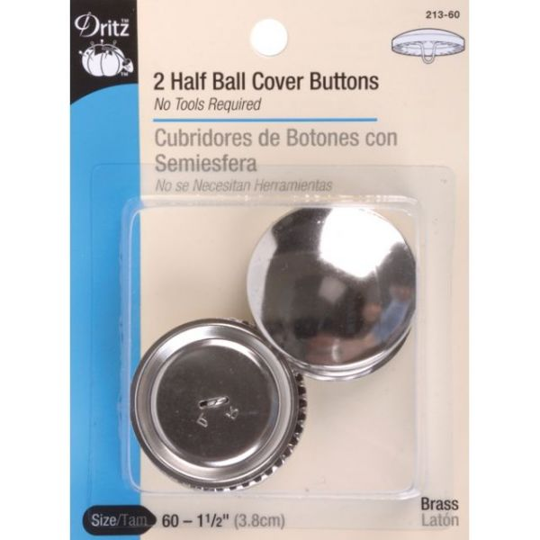 Half-Ball Cover Buttons