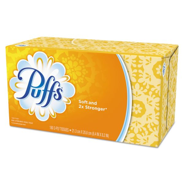 Puffs Basic 1-Ply Facial Tissues