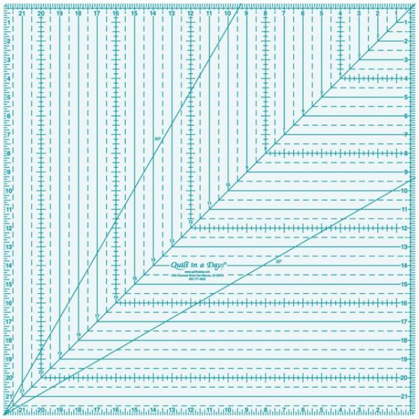 Quilt In A Day Square Up Ruler