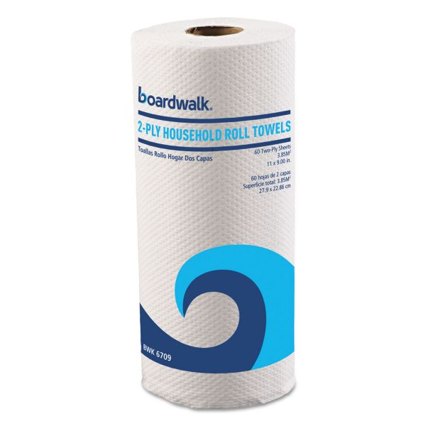Boardwalk Household Perforated Paper Towels