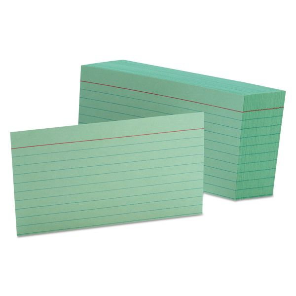 "Esselte 3"" x 5"" Ruled Index Cards"