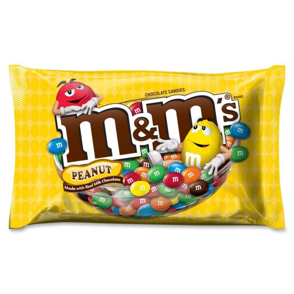 M&M's Milk Chocolate With Peanuts Bite Size Candy