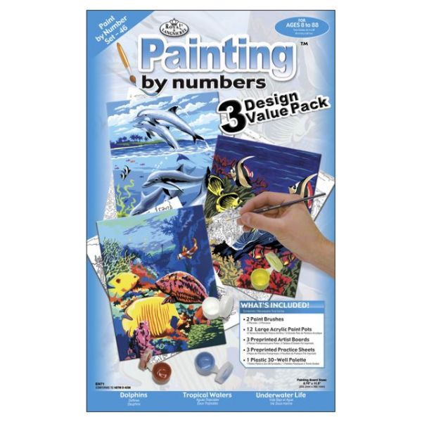 Junior Small Paint By Number Kit