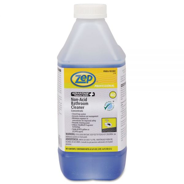 Zep Professional Advantage+ Concentrated Non-Acid Bathroom Cleaner