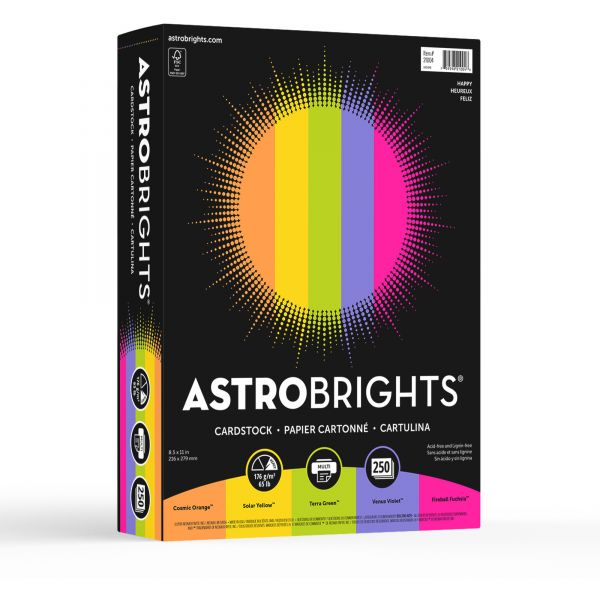 Astrobrights Colored Card Stock