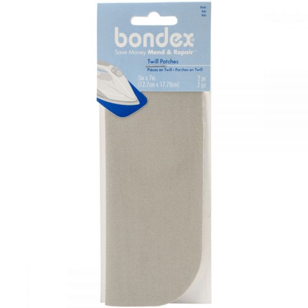"Bondex Iron-On Patches 5""X7"" 2/Pkg"