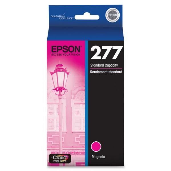 Epson Claria 277 Magenta Ink Cartridge (T277320)