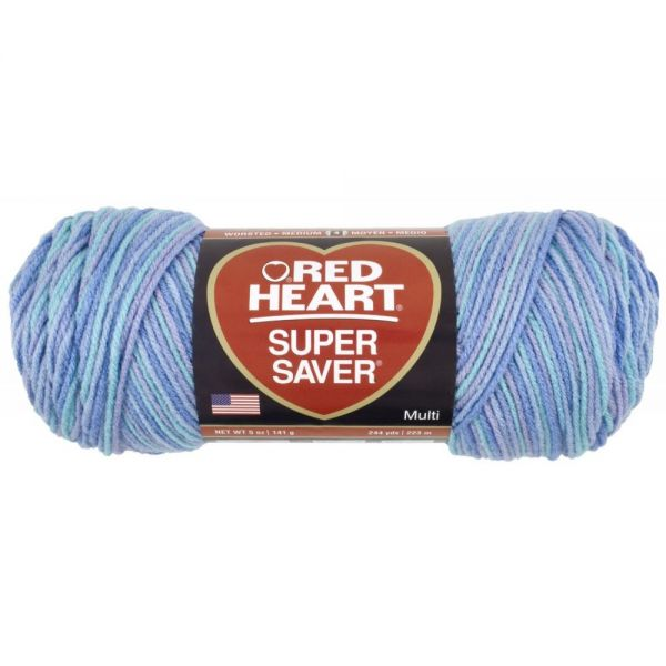 Red Heart Super Saver Yarn - Ocean