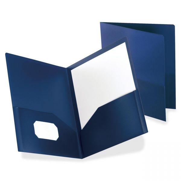 Oxford Polypropylene Twin Pocket Portfolios