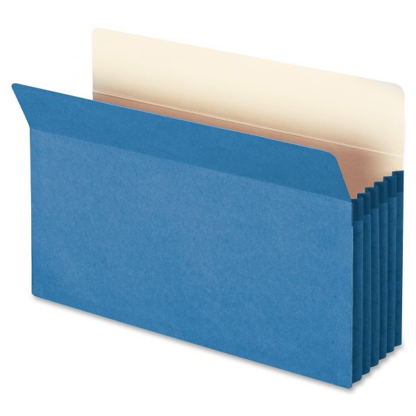 Smead 74235 Blue Colored File Pocket