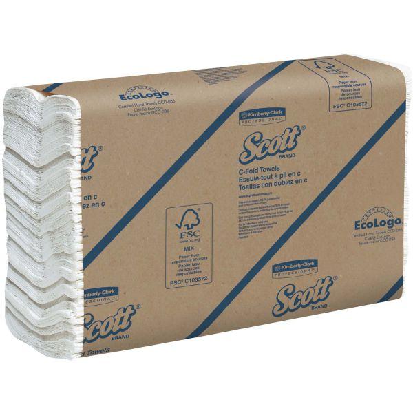 SCOTT Recycled C-Fold Paper Towels