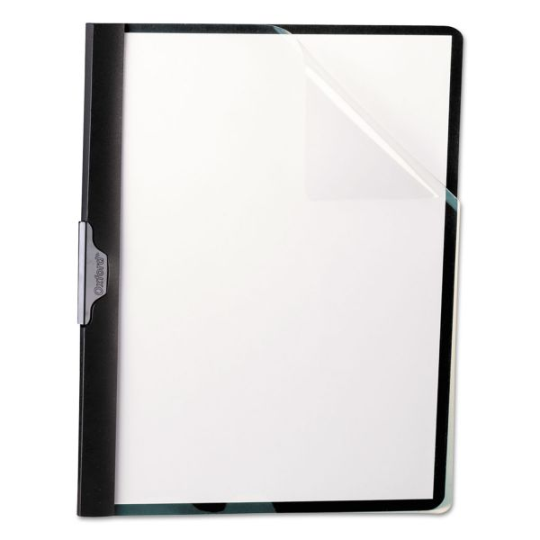 Oxford Polypropylene Clear Front Report Cover