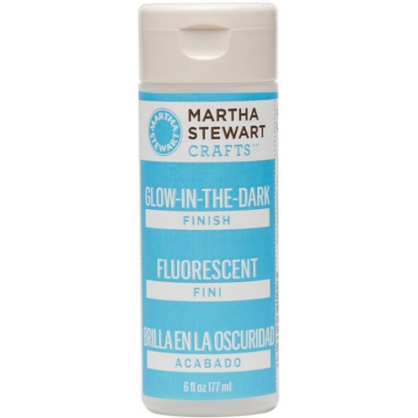 Martha Stewart Glow-In-The-Dark Finish