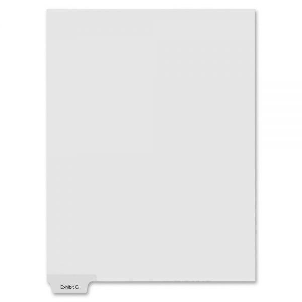 Kleer-Fax 90000 Series Bottom-Tab Legal Exhibit Index Dividers