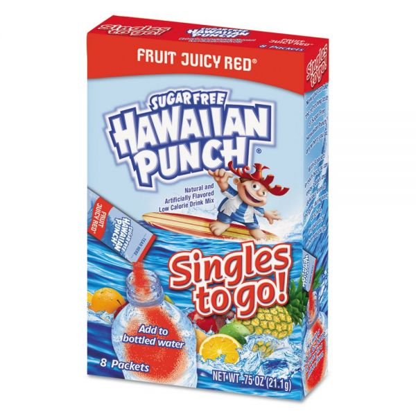 Hawaiian Punch Drink Mix Single Sticks