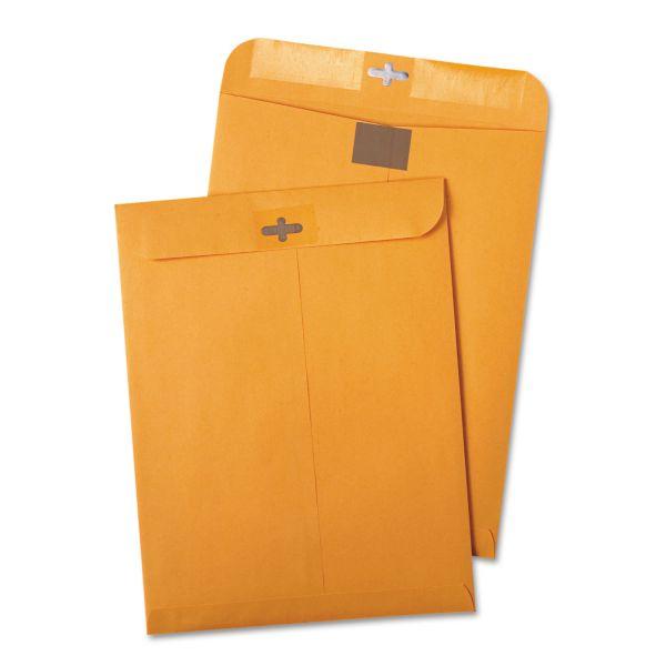 "Quality Park Redi-Tac Gummed 10"" x 13"" Clasp Envelopes"