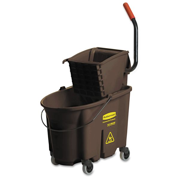 Rubbermaid WaveBrake Bucket & Wringer Combination
