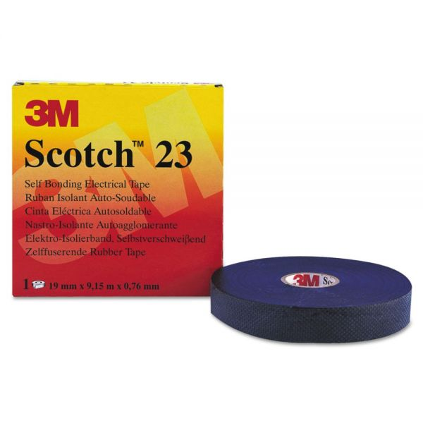 """3M Scotch 23 Rubber Splicing Tape, 3/4"""" x 30ft"""