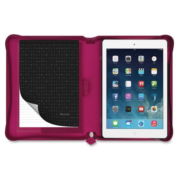 Filofax Pennybridge Case for iPad Air, Raspberry