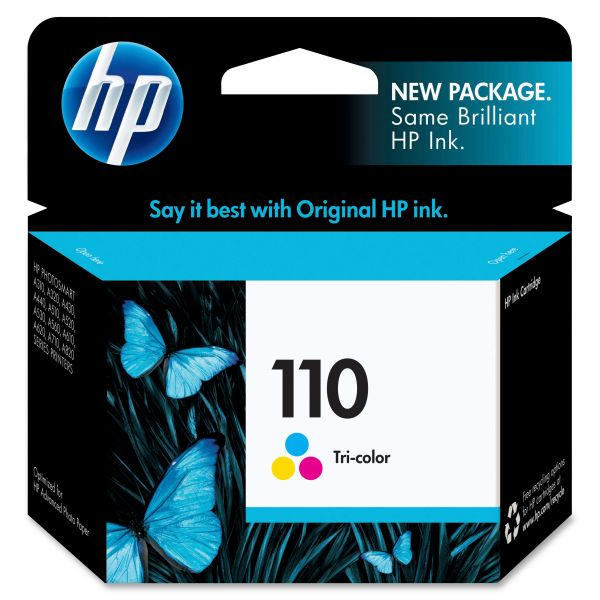 HP 110 Tri-Color Ink Cartridge (CB304AN)