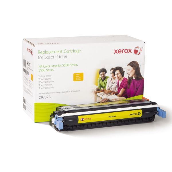 Xerox Remanufactured HP C9732A Yellow Toner Cartridge